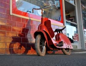 Vespa Pedal Bike