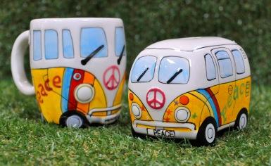 VW Yellow Peace