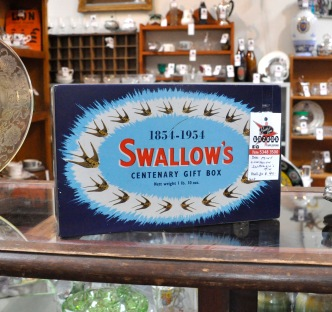 Fabulous Swallow's Tin on our new Stall 20